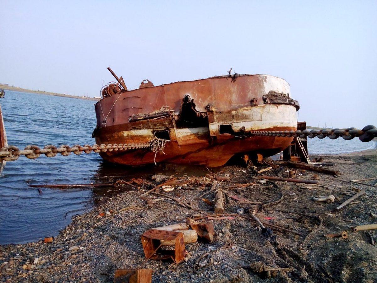 Судоподъем и утилизация танкера
