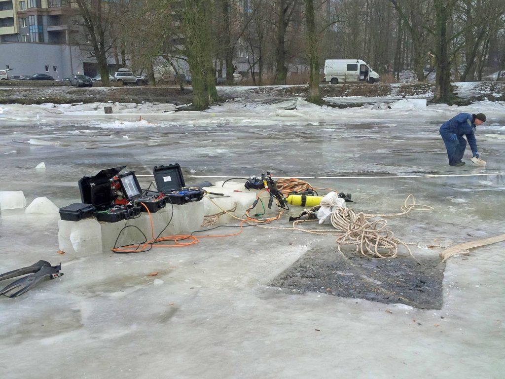 Дноуглубление на водозаборе Южной ТЭЦ Санкт-Петербург