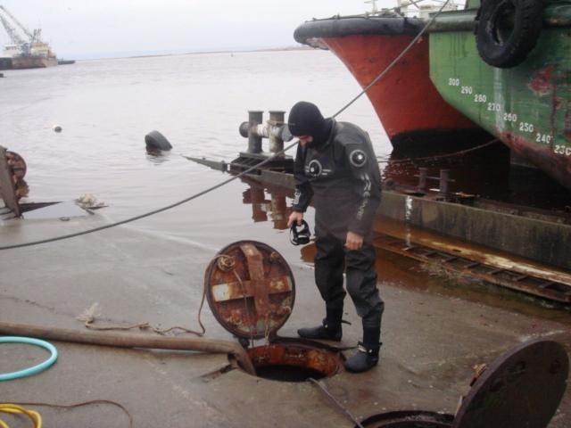Подъем и ремонт плавпричала Усть-Луга