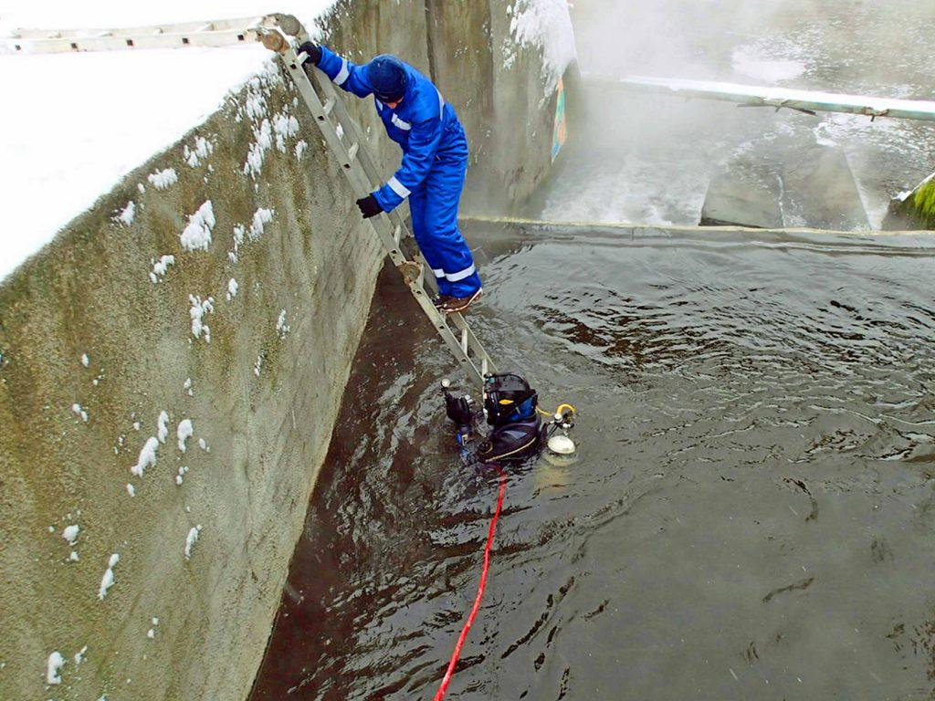 Обследование ГТС водовыпуса ОС Московская область
